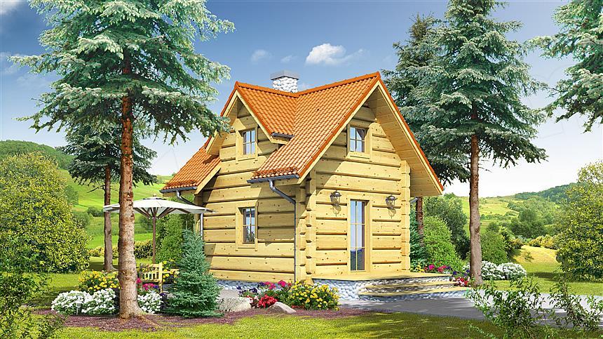 domy całoroczne z drewna, domy całoroczne z bali, domy caloroczne z bali